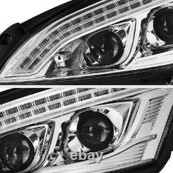2007-2013 M-benz W221 S550 S63 S65 Amg Newest Drl Chrome D1s Phares Lampes