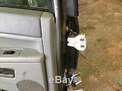 2007 Jeep Grand Cherokee 3.0 Briser Arrière Gauche Passager Nu Porte Shell