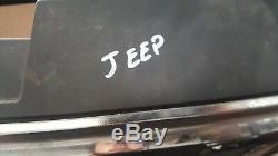 2007 Jeep Grand Cherokee 3.0 Diesel Automatique De Rupture Avant Chrome Bonnet Grill