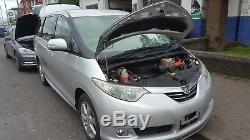 2007 Toyota Estima 2.4 Essence Moteur Hybride De Rupture + Ecu + Loom Fuse Câblage Box