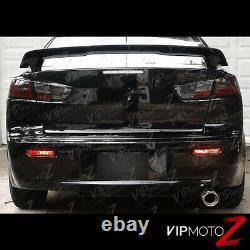 2008-2017 Lancer Evolution Evo X Gsr Mr 4b11 Smoke Jdm Led Tail Lampadaire Turbo