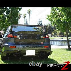 2008-2017 Mitsubishi Lancer Evolution Evo X 4b11 Gsr Mr Black Led Taillight
