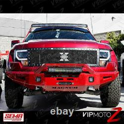 2009-2014 Ford F150 Cyclop Optic Tube Led Matte Phares Noirs