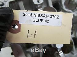 2009-2015 Nissan 370z Coupé Oem Côté Gauche Moteur Cylindre Ensemble Tête 7k Miles