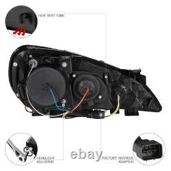 2010 2011 2012 Genesis 2 Coupé De Porte Black Halo Projecteur Led Phares