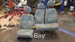 2012 Ford Transit 2.2 Cdti 100 T260 Sièges Conducteur Et Passager Jumeaux + 1x Ceinture