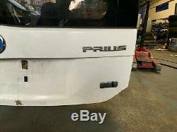 2013 Toyota Prius 1.8 Hybride Essence Arrière Tailgate Hayon Arrière Pare-brise Solide Blanc