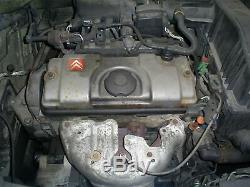 (233192) Citroen C3 Mk1 Moteur 1.4 8v Kfv 83k Convient Lso Peugeot 207