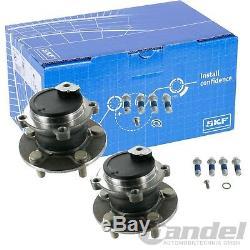 2x Skf Radnabe Radlagersatz Radlager Hinten Ford C-max 1 07- Focus C-max 3 À 7 Janvier