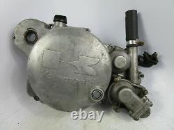 89 04 Kawasaki Kx500 Kx 500 Embrayage Cover Side Case Engine Motor