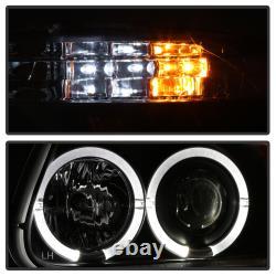 95-01 Ford Explorer Sport Halo Led Projecteur Black 1pc Phare + Corner Lampe L+r