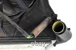 97-04 Porsche Boxster 986 Gauche Pilote Radiateur + Ventilateur De Refroidissement 99610613251 Oem