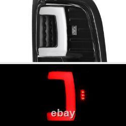Black Tron Style Led Tail Lumières Lampes Pour 1994-2001 Dodge Ram 1500 2500 3500