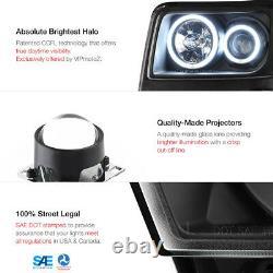 Bright Ccfl Halo Anneau 07-11 Dodge Nitro Projector Led Drl Phare Paire