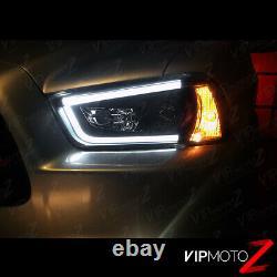 Chargeur Dodge 2011-2014 Black Beast Projecteur De Tube Tron Neon Lampes Phares