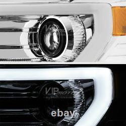 Chrome 2009-2014 Ford F150 Projecteur À Led Plasma Phares Gauche + Droite Set