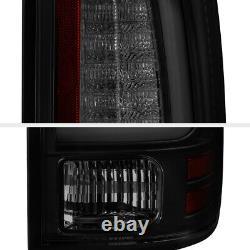 Darkest Smoke Fit 13-18 Ram 1500 2500 3500 Led Tail Lampes De Remplacement
