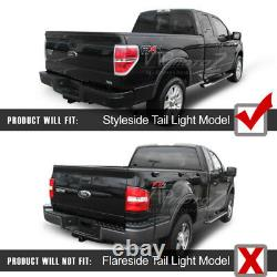 Darkest Smoke Led Tube Tail Lumières Lampes Tron Style Pour 2009-2014 Ford F150