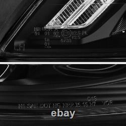 Dernière Design Drl Pour 07-13 Mercedes W221 S Classe Amg Led Phare Noir D1s