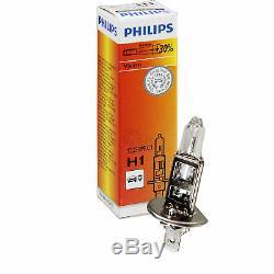 Ensemble De Phares Ensemble Vw Polo 9n3 Année Fab. 05-09 Noir Incl. Philips H7 + H1 + Moteurs