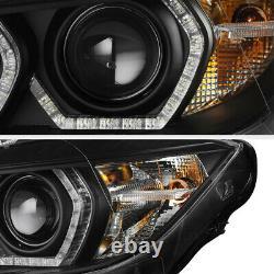 F32 M3 Style Pour 12-15 Bmw F30 4dr 328i 335i Projecteur À Double Led Halo Phare
