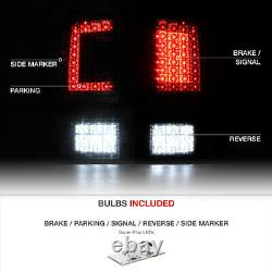 Factory Red 2009-2018 Dodge Ram 1500 2500 3500 Full Led Tail Lights Lamps Set