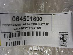 Ferrari 355 Lh Side Protection Engine Bay Shield P / N 64501600