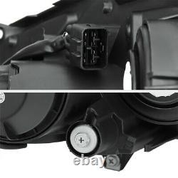 Fit 2008-2011 Subaru Impreza Wrx Sti 2.5 Outback Black Headlights Assemblage