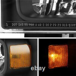 Full Conversion Kit 1999-2004 Ford F250 F350 Phares Superduty Lampes Pare-chocs