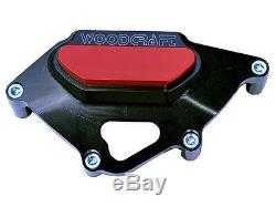 Honda 2008-2016 Cbr 1000rr Woodcraft Protecteur De Couvercle De Stator De Moteur Côté Gauche