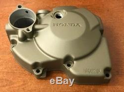 Honda Crf250r 250x 2004-2008 250 Cas Du Côté Gauche Du Couvercle Du Moteur 11340-krn-670 Oem