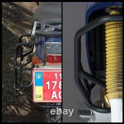 Honda Nx250 Dominator Crash Bars Garde Moteur + Transporteurs Latéraux Pannier Rack Ax-1
