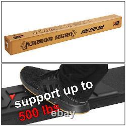 J2 Pour 07-19 Silverado Sierra Crew Cab Black 6.5 Side Step Bar Running Board