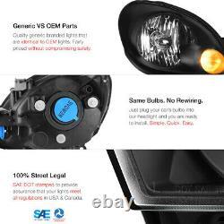 Jdm Phares Noirs Assemblage De Remplacement De Lampe 1998-2005 Lexus Gs Aristo 2jz