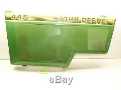 John Deere 425 455 445 Panneau Et Écran Moteur Côté Gauche Du Tracteur