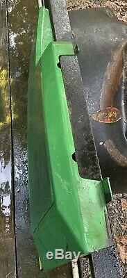 John Deere 425 455 445 Tracteur Côté Gauche Panneau Moteur Et Écran Regard Sur Le Pic