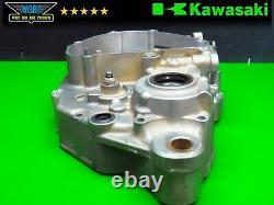 Kawasaki Kx250f 2009 Côté Gauche Crank Case Bottom End Engine Carter Half