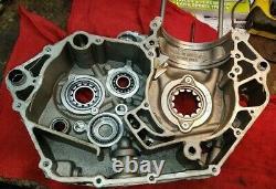 Ktm 450 Sxf 2008 Sx-f Crankcase Engine Case Left Side Seulement