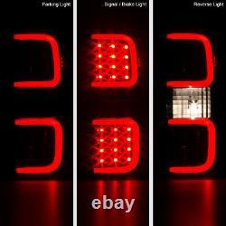 Led Plasma Tube 2009-2014 Ford F150 F-150 Black Brake Tail Lights Gauche+droite