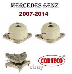 Mercedes Motor Engine & Transmission Mount Set Cl550 S450 S550 4-matic Corteco