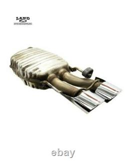 Mercedes W216 W221 S/cl Engine Motor Exhaust System Muffler Gauche/droite M156 Amg