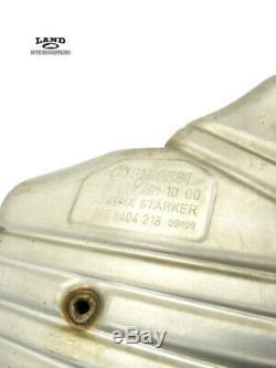 Mercedes W221 W216 Conducteur / Passager Silencieux D'échappement Arrière Tuyau Set V12 S600 Cl600