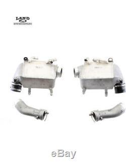 Mercedes W221 W216 Moteur Moteur Turbocompresseur Admission D'air Intercooler / Radiateur
