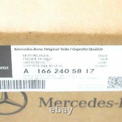 Mercedes-benz Gle W166 Left Side Engine Mount A1662405817 Nouveau Véritable