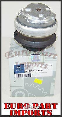 Mercedes-benz Moteur Support Moteur Gauche Ou Côté Droit Véritable Allemagne 2202403317