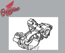 Nouveau Carter De Moteur Oem D'origine 03 04 05 06 Honda Cr85r Cr 85 Rb À Gauche