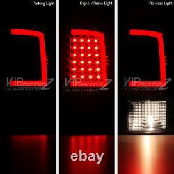 Oled Neon Tube 2009-2018 Dodge Ram 1500 2500 3500 Black Led Tail Lights 2016