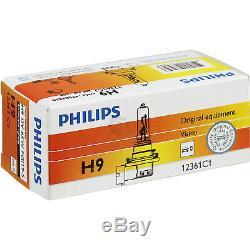 Phares Set Volvo S40 V50 M Bj. 07- Réflecteur Gris Philips H7 + H9 + Moteurs