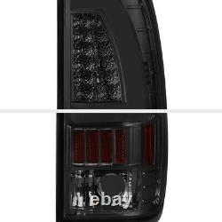 Plug & Play Smoke Neon Tube Led Tail Light Set 97-03 Ford F150 -07 Superdust
