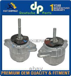Porsche Panamera Engine Motor Mount Lh + Rh Side 94637505722 94637505822 Ensemble 2